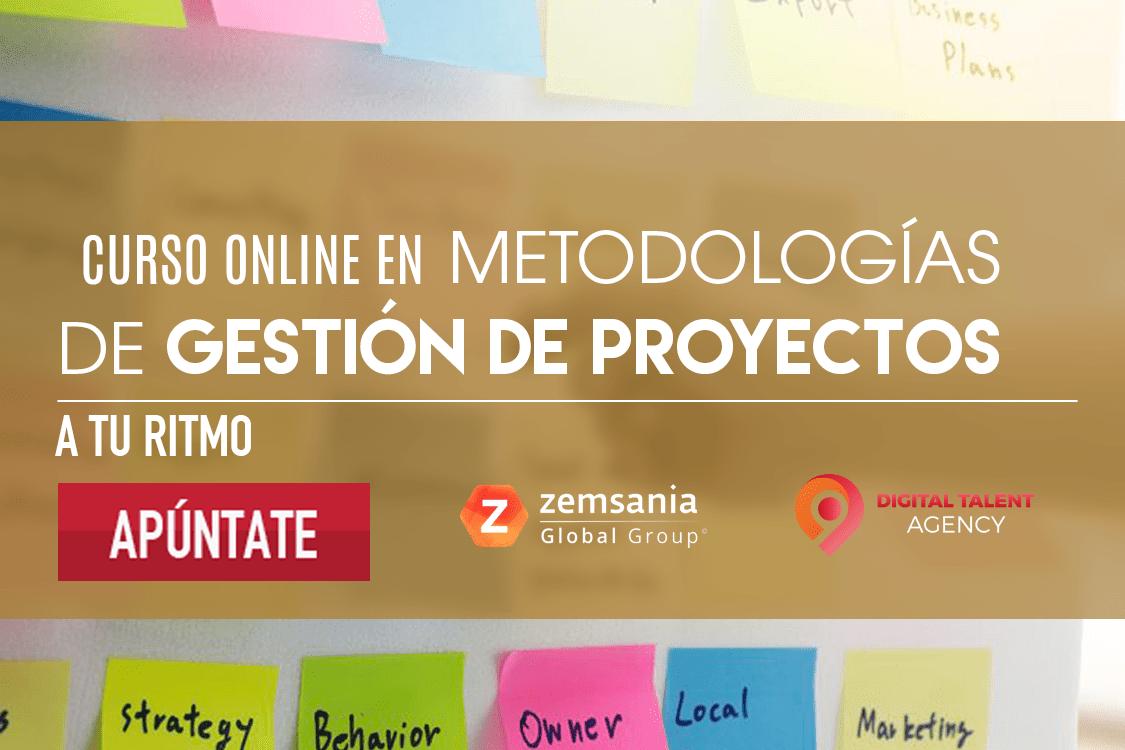 Curso metodologías de gestión de proyectos