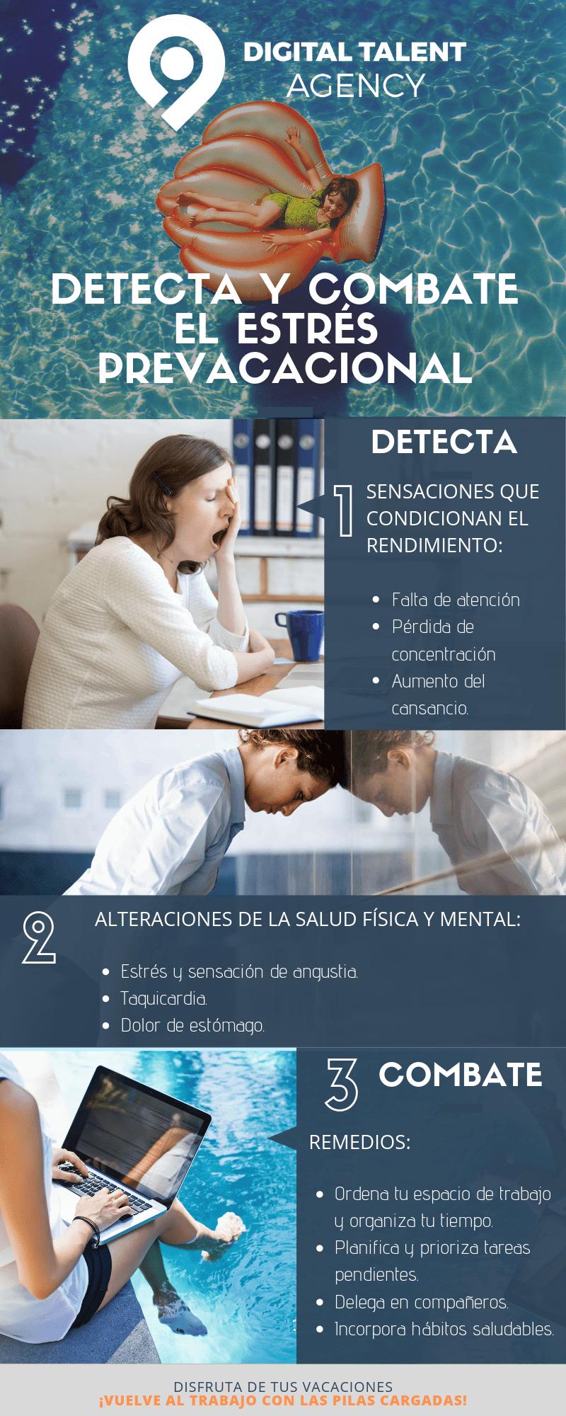 Detecta y combate el estrés prevacacional